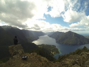 Top of Mt Storm King, Olympic National Park